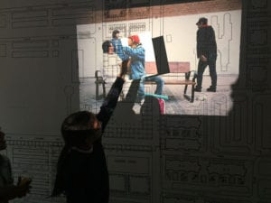 Crecemos por momentos | Exposición comisariada por 26 alumnos de 5º de Primaria | CentroCentro Cibeles | Plataforma Indómita | 05/04 - 17/06/2018 | Estudio del espacio expositivo