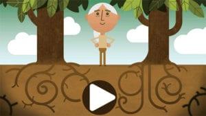 Día Internacional de la Madre Tierra 2018 |  Doodle Google doctora Jane Goodall | 22 de abril de 2018