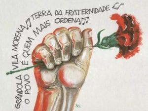 Grândola, vila morena, terra da fraternidade, o povo é quem mais ordena... | 25 de abril de 1974 | Portugal