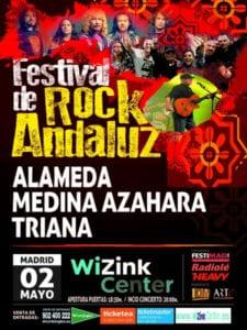 Programación 3ª Semana de Festimad 2018 | 30/04 - 06/05/2018 | Festival de Rock Andaluz | Alameda, Medina Azahara, Triana | 02/05/2018 | Cartel
