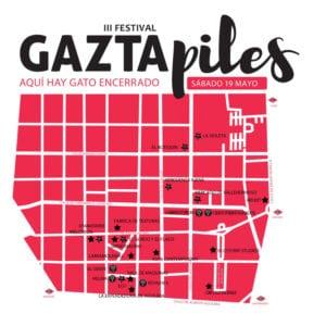 3er Festival Gaztapiles | Barrios de Gaztambide y Arapiles | Chamberí - Madrid | 19/05/2018 | Plano