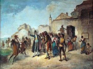 Bando de los alcaldes de Móstoles | 2 de mayo de 1808 | Móstoles | Madrid | Postal 1908