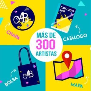 Los Artistas del Barrio 2018 | La Latina, Lavapiés. Puerta del Ángel y Carabanchel | 02, 03, 09 y 10/06/2018 | Más de 300 artistas