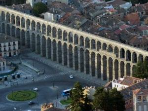 Madrid y las Ciudades Patrimonio presentan su oferta turística y cultural 2018 | Acueducto romano | Segovia | Castilla y León