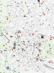 'Mira Madrid' | Día Internacional del Turismo Responsable 2018 | Sábado 2 de junio | Ayuntamiento de Madrid | Plano