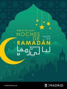 Noches de Ramadán 2018 | Madrid | Del 04 al 17/06/2018 | Cartel