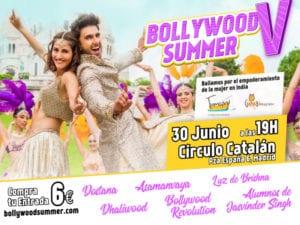 Bollywood Summer 5 | Festival solidario de danzas indias | Madrid | 30/06/2018 | Cartel