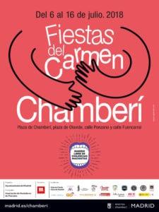 Fiestas del Carmen Chamberí 2018 | 06-16/07/2018 | Chamberí (Madrid) | Cartel