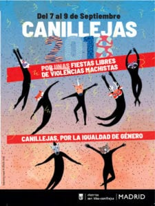 Fiestas de Canillejas 2018 | San Blas - Canillejas | Madrid | 07-09/09/2018 | Cartel