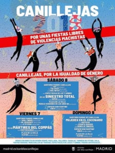 Fiestas de Canillejas 2018 | San Blas - Canillejas | Madrid | 07-09/09/2018 | Programa
