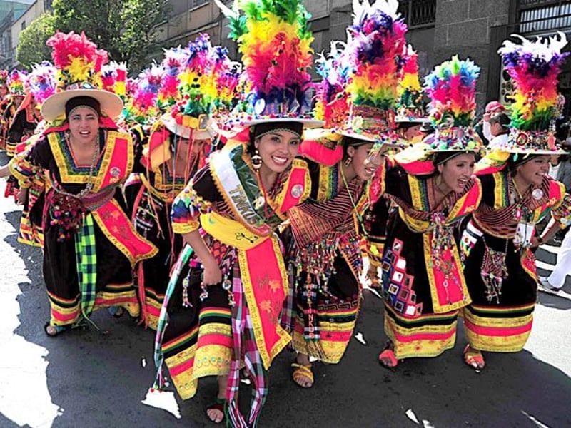 bolivianas en madrid