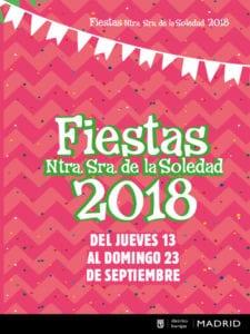 Fiestas de Barajas 2018 | Nuestra Señora de la Soledad | 13-16/09/2018 | Barajas | Madrid | Cartel