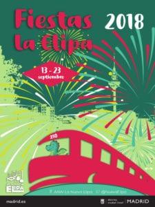 Fiestas de La Elipa 2018 | Ventas | Ciudad Lineal | Madrid | 13-23/09/2018 | Cartel