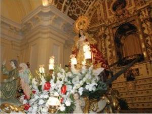Fiestas Patronales de Móstoles 2018 en honor a Nuestra Señora de los Santos | 11-16/09/2018 | Imagen de la Virgen de los Santos