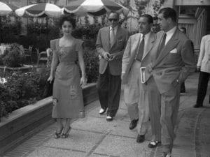 MAD about Hollywood | Sala El Águila | 06/09-14/10/2018 | Arganzuela (Madrid) | Elizabeth Taylor | Hotel Castellana Hilton de Madrid (1953) | Fondo fotográfico Gerardo Contreras | Archivo Regional de la Comunidad de Madrid