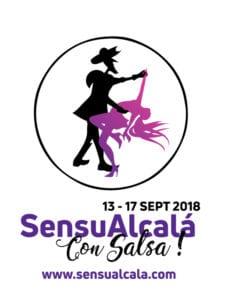 SensuAlcalá con Salsa! | 13-17/09/2018 | Alcalá de Henares | Comunidad de Madrid | Logo