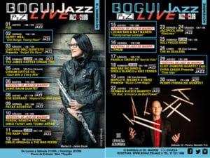 Conciertos noviembre 2018 Bogui Jazz | Cartel programación