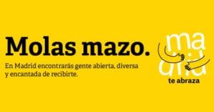 Madrid destaca como ciudad del abrazo | Campaña 'Madrid te abraza' | Ayuntamiento de Madrid 2018 | Molas mazo