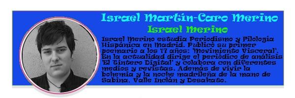 Perfil colaboradores PqHdM | Israel Martín-Caro Merino | Israel Merino