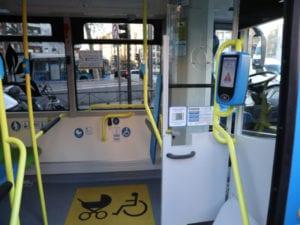 Nuevos minibuses eléctricos Wolta para las líneas M1 y M2 | Empresa Municipal de Transportes | Ayuntamiento de Madrid | Interior