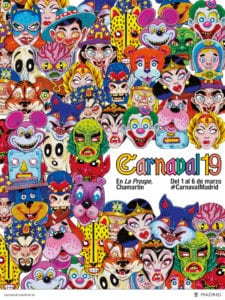 Carnaval19 de Madrid en La Prospe | Chamartín | 01-06/03/2019 | Cartel