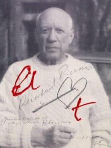 Antoni Tàpies | Recordando a Picasso (2007) | Siete caras de Picasso | Museo Picasso - Colección Eugenio Arias | 09/04-30/06/2019 | Buitrago del Lozoya | Comunidad de Madrid